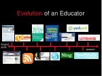 evolution of an educator