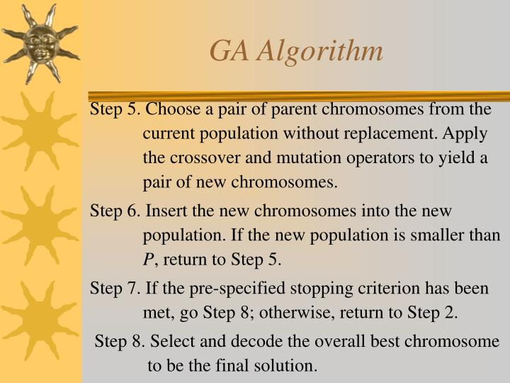 GA Algorithm