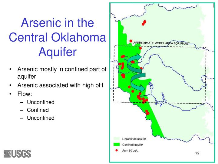 Arsenic in the Central Oklahoma Aquifer