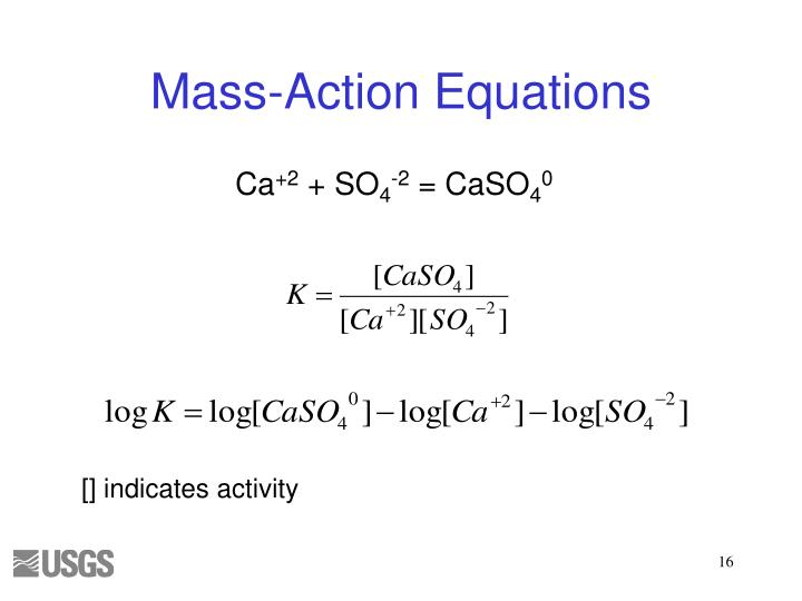 Mass-Action Equations