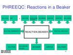 phreeqc reactions in a beaker