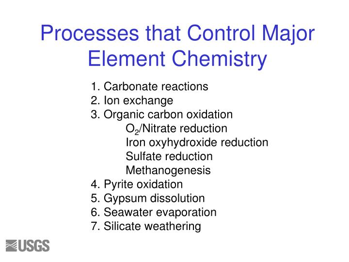 1. Carbonate reactions