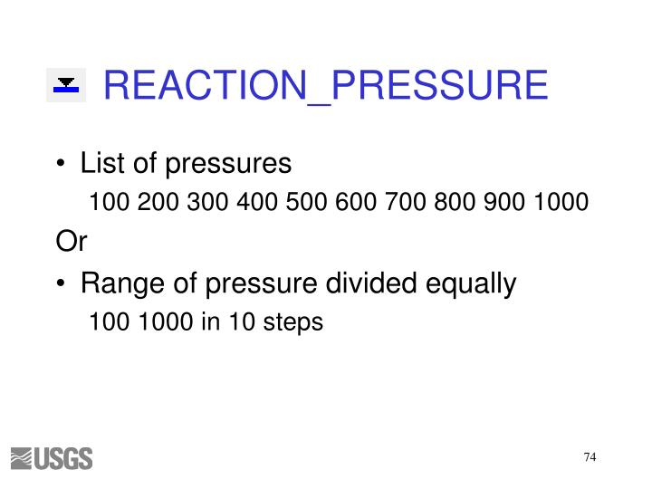 REACTION_PRESSURE
