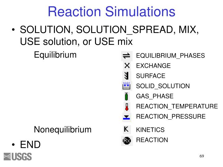 Reaction Simulations