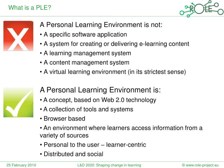 What is a PLE?