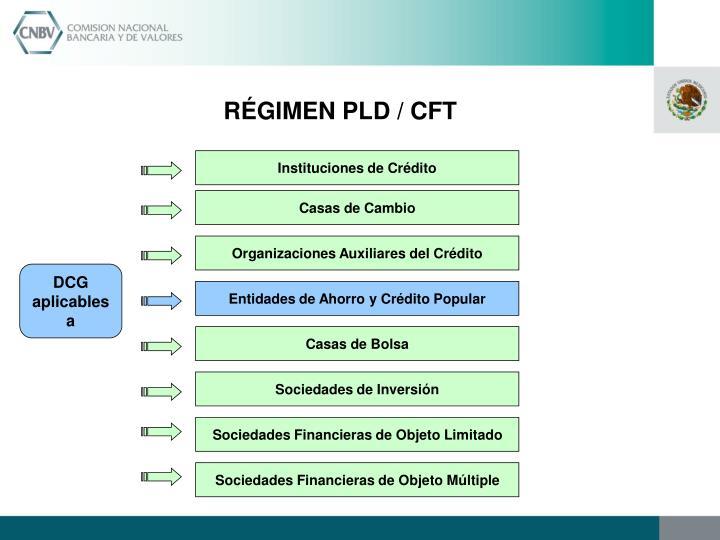RÉGIMEN PLD / CFT