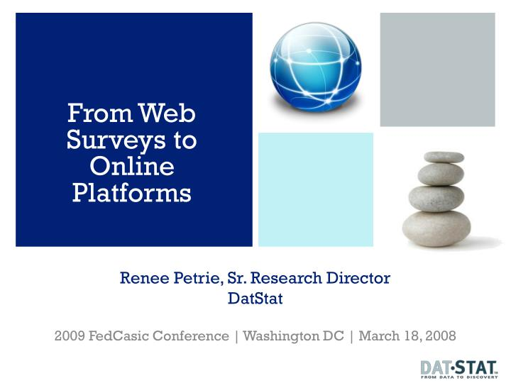 Renee petrie sr research director datstat
