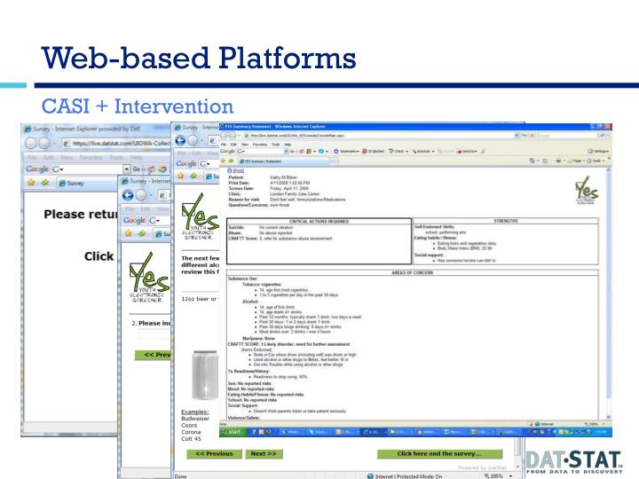 Web-based Platforms