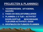 projecten planning1