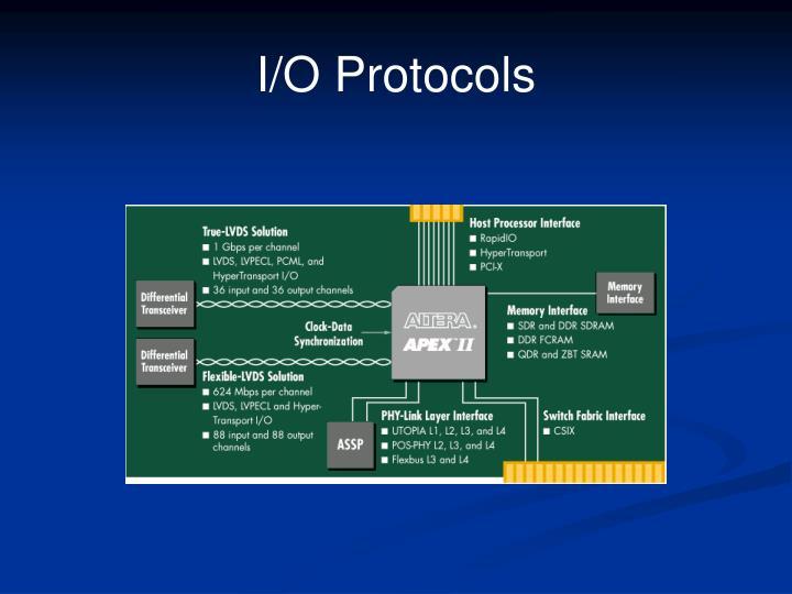 I/O Protocols