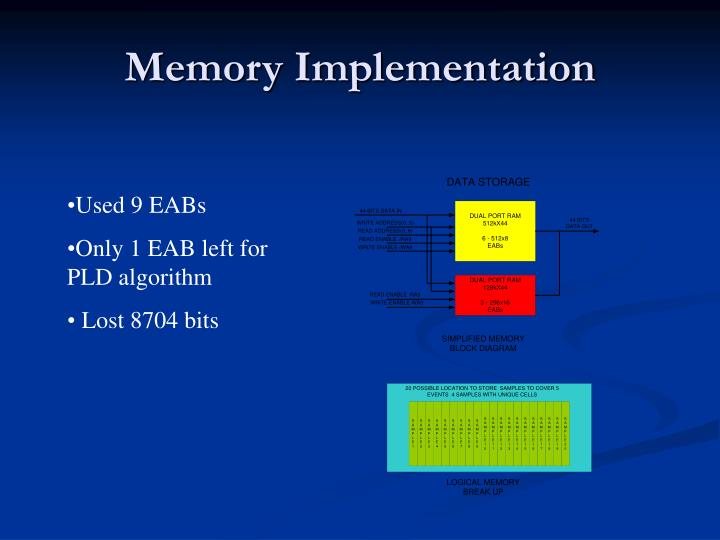 Memory Implementation