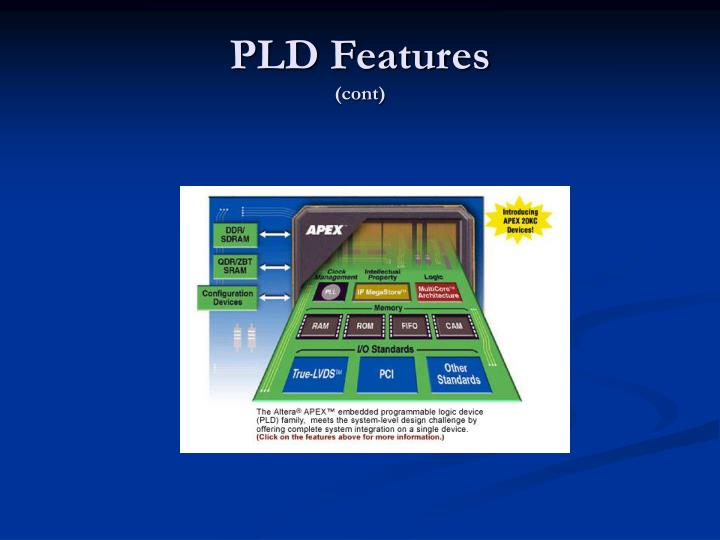 PLD Features