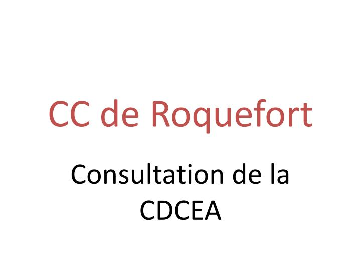CC de Roquefort