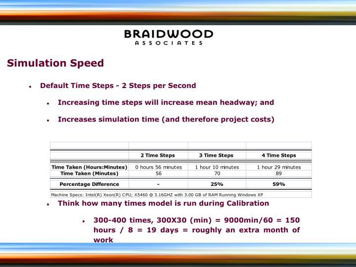 Simulation Speed