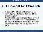 plu financial aid office role2