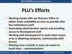 plu s efforts