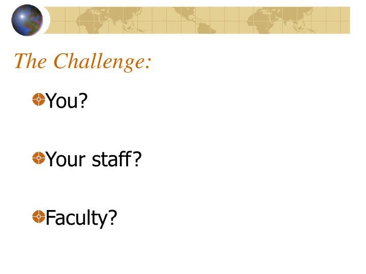 The Challenge: