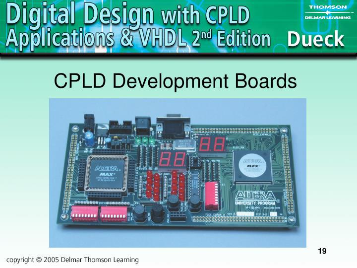 CPLD Development Boards