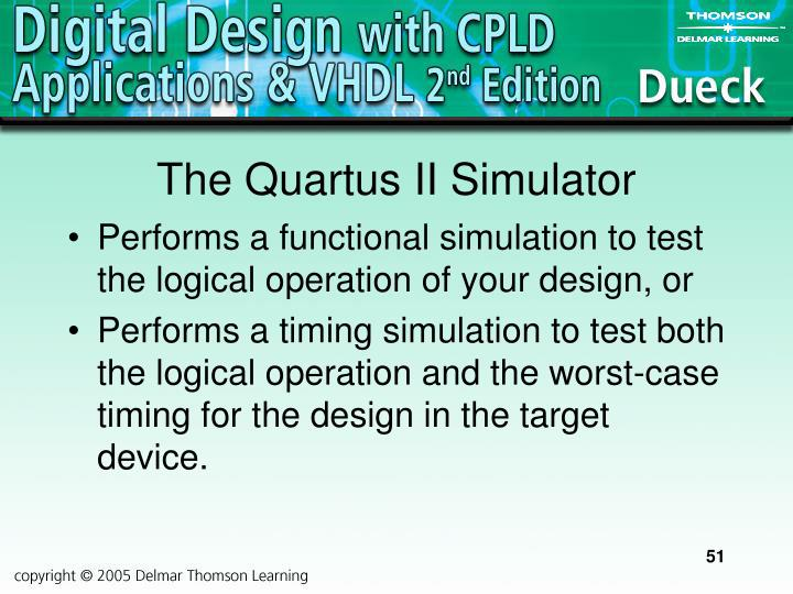 The Quartus II Simulator