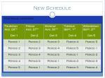 new schedule2
