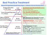 best practice treatment