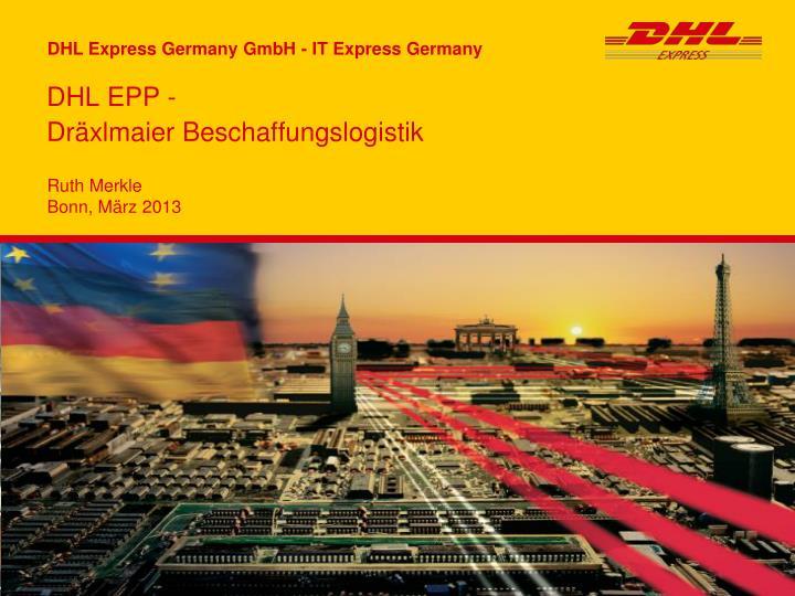 DHL EPP -