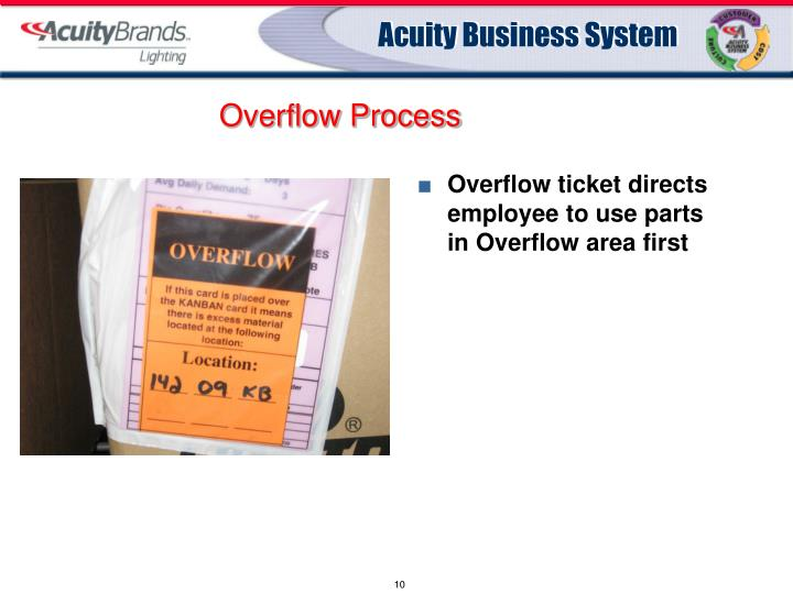Overflow Process