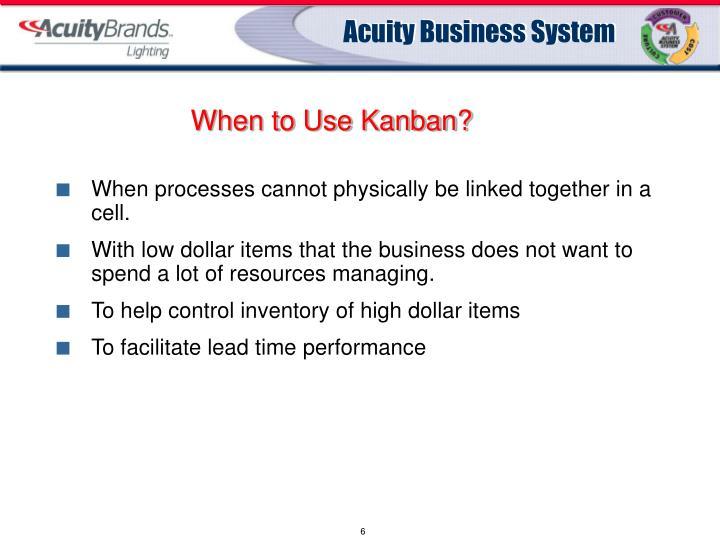 When to Use Kanban?