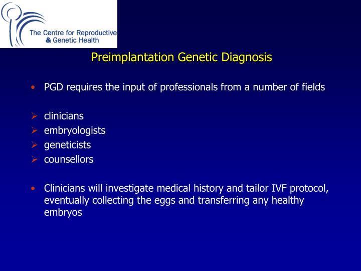 Preimplantation
