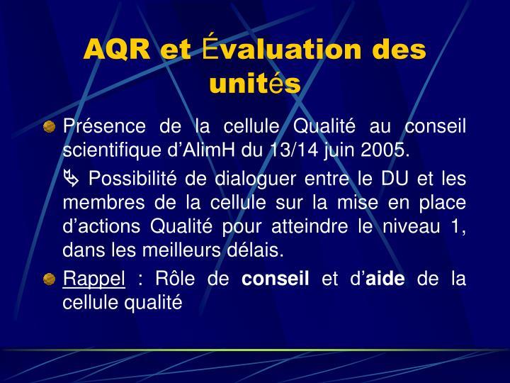 AQR et