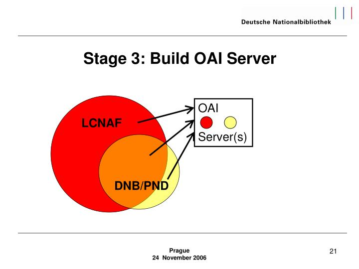 Stage 3: Build OAI Server