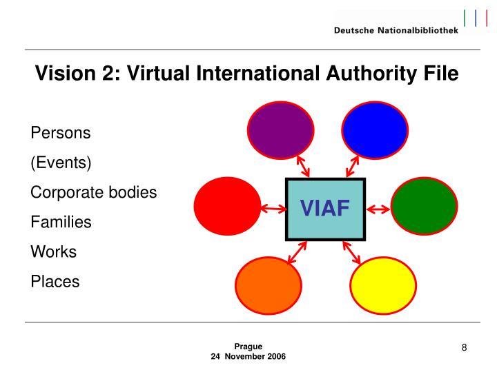 Vision 2: Virtual International Authority File