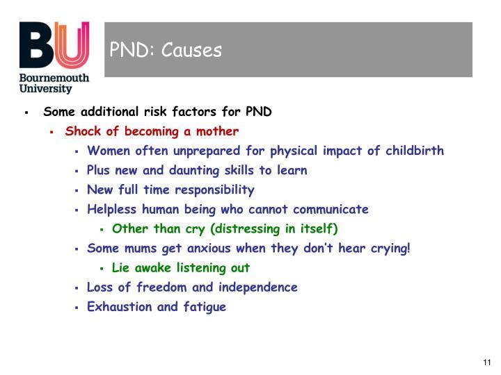 PND: Causes