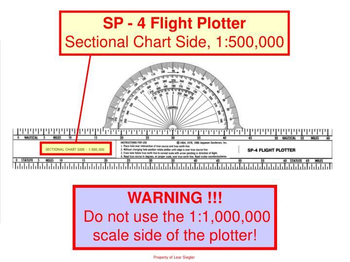 SP - 4 Flight Plotter
