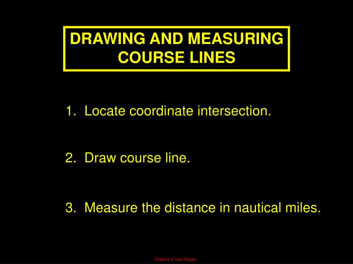DRAWING AND MEASURING