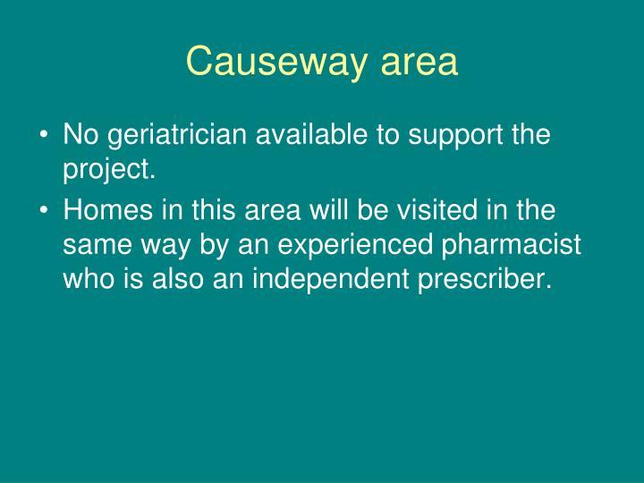 Causeway area