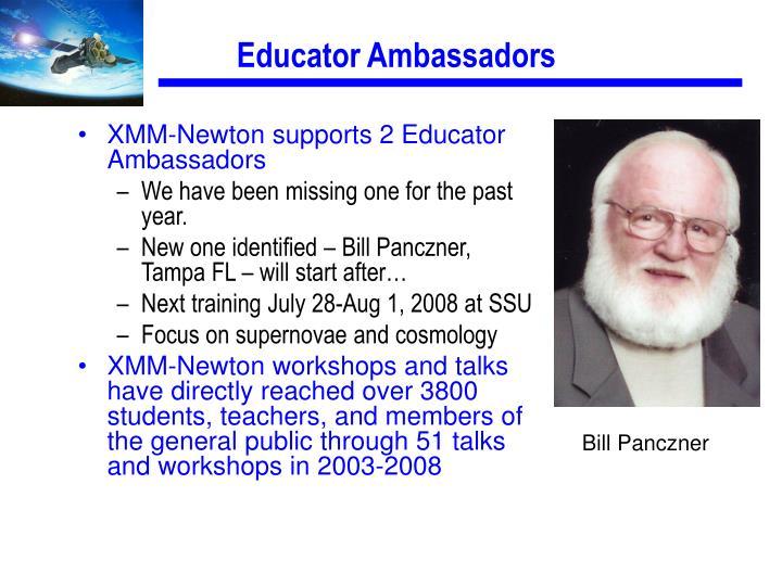 Educator Ambassadors