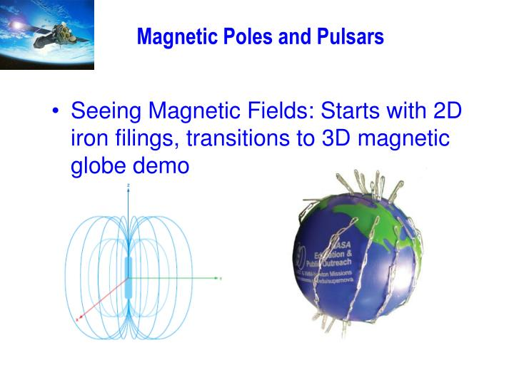 Magnetic Poles and Pulsars