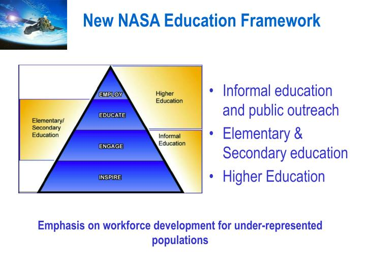 New NASA Education Framework