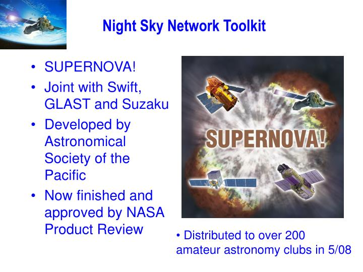 Night Sky Network Toolkit