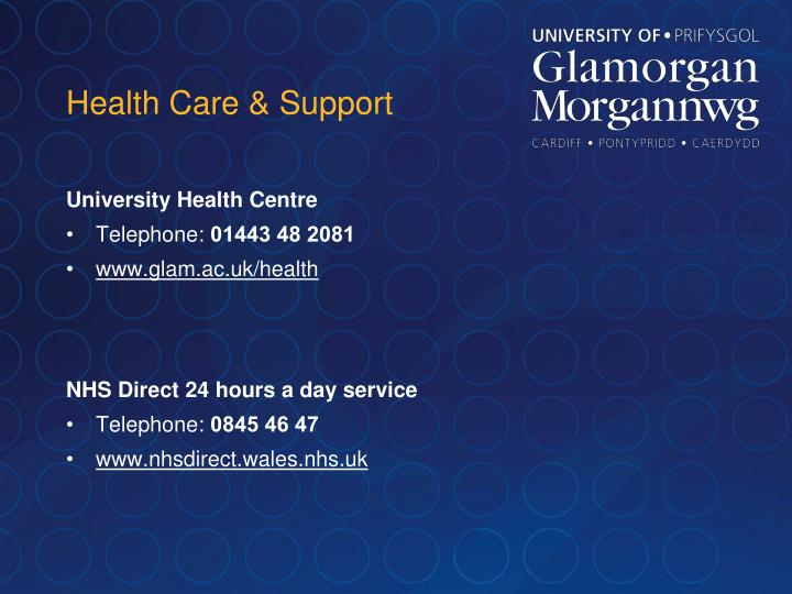 Health Care & Support