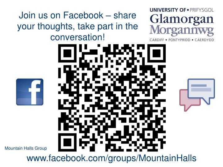 Join us on Facebook – share your thoughts, take part in the conversation!