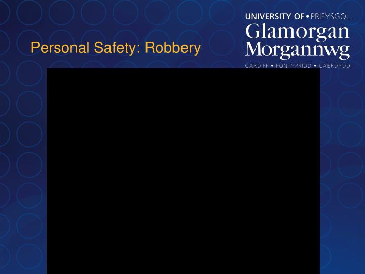 Personal Safety: Robbery