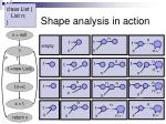 shape analysis in action