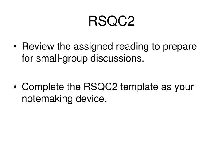 RSQC2