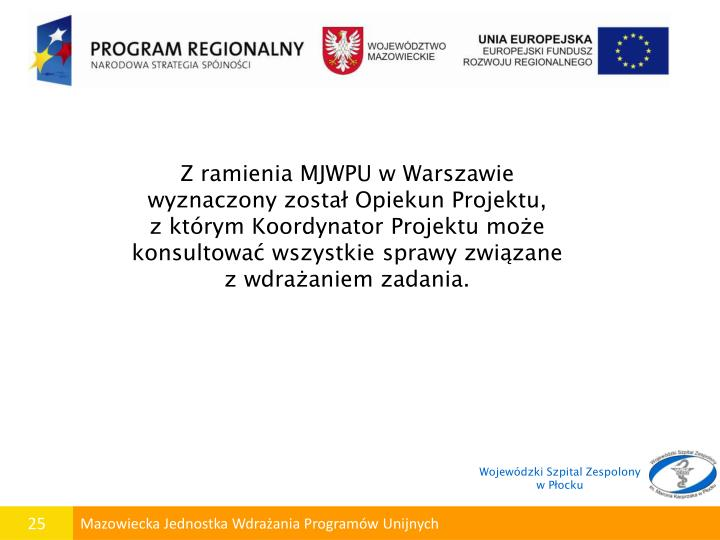 Z ramienia MJWPU w Warszawie