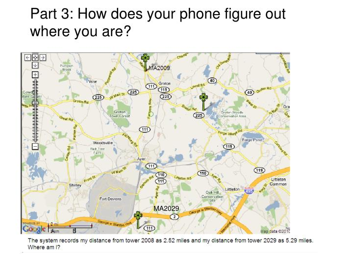 Part 3: How does your phone figure out where you are?
