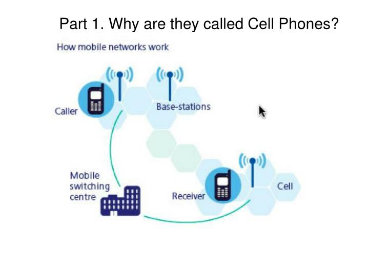 Part 1. Why are they called Cell Phones?
