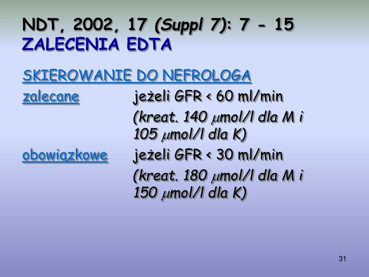 NDT, 2002, 17