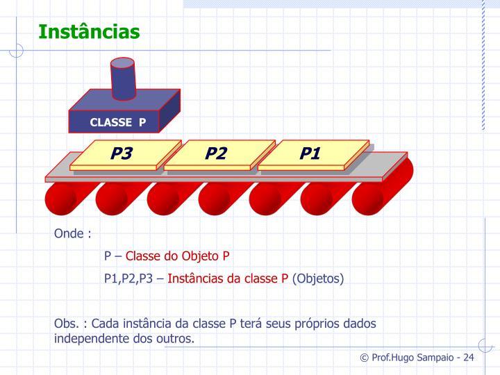 CLASSE  P